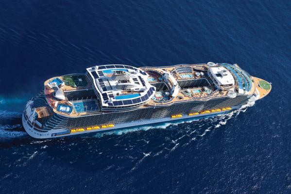שייט באנייה החדשה מברצלונה